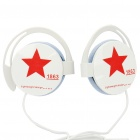Trendy Stereo Headphones - White (3.5mm Jack/90cm Cable)