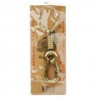 Kirksite Key Ring - Bronze