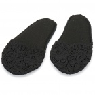 Anti-Slip Soft Lace Cotton Forefoot Pad (Pair)