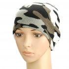 Stylish Woolen Beanie Winter Hat Cap - Camouflage