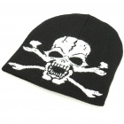 Stylish Woolen Beanie Winter Hat Cap - Skull