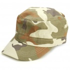 Cool Military Canvas Cap Hat with Adjustable Strap - Random Camouflage