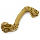 Military Army Survival Parachute Rope - Khaki (30M/140KG Max. Tensile)