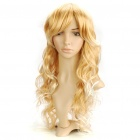 Fashion Long Curly Hair Wig - Blonde