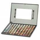 Cosmetic Make-Up 88-Color Eye Shadow Palette mit Spiegel und Pinsel (matt)
