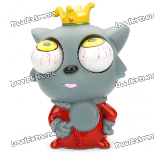 Eyeballs Pop-out Wolf Silicone Stress Reliever Toy