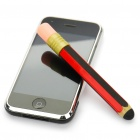 Cute Pencil Shaped Silicone Touchpad Stylus Pen