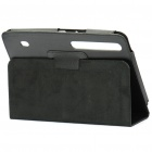 Protective PU Leather Case for Moto Xoom - Black
