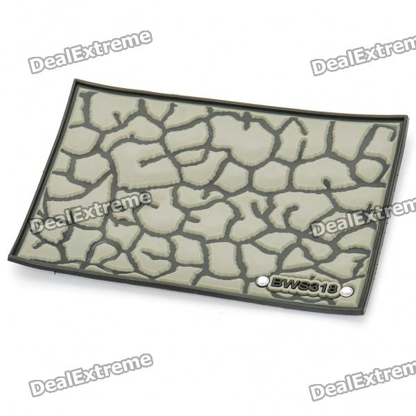 Vehicle Car PU Rubber Anti-Slip Mat Pad (Random Color)