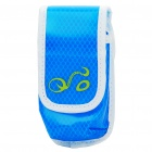 Fashion Waterproof Arm Bag/Waist Bag for Cell Phone/MP3/MP4/Gadgets - Blue