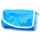 Fashion Waterproof Waist Bag/Bicycle Bike Bag with LED Light Strap - Blue