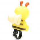 Cute Cartoon Bee Style Bicycle Bike Horn - Yellow