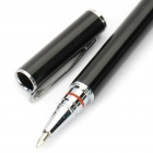 Universal Touchpad Stylus Pen + Ballpoint Pen for Tablet PC/Cell Phone - Black