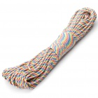 Military Army Survival-Fallschirm-Rope - Dazzle Color (30M/140KG Max.Tensile)