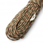 Military Army Survival Parachute Rope - Camouflage Color (30M/140KG Max.Tensile)