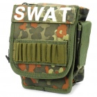 Outdoor Leg Bag with Two Straps - Camouflage