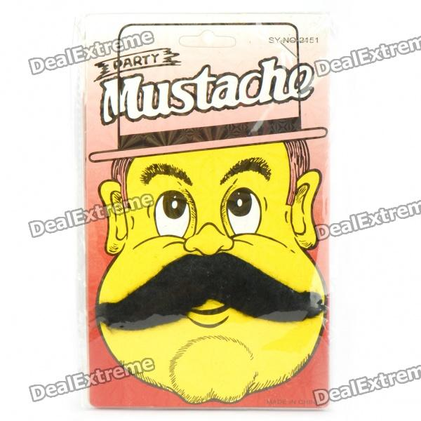 Costume Party Cosplay Artificial Mustache - Black (Random Style)
