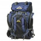 Meixing Fashionable Outdoor Travel Sport Backpack Double Shoulder Bag - Black + Blue