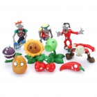 Buy Cute Plants vs Zombies Figure PVC Toys Dolls (10-Figure Set)