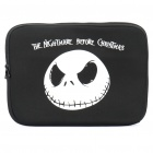 Stylish Skull Protective Soft Carrying Bag for 14