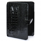 Protective PU Leather Case with Cover for   Ipad - Black