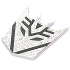 Shinning Crystal Zinc Alloy Transformers Decepticons Sticker for Car