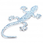 Shinning Crystal Zinc Alloy Lizard Sticker for Car