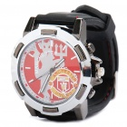 Stylish Football/Soccer Team Emblem Wrist Watch - Man Utd (1 x 377S)