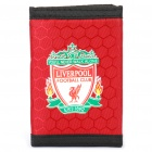 Football/Soccer Team Trifold Nylon Wallet - Liverpool