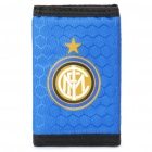 Football/Soccer Team Trifold Nylon Wallet - Inter Milan