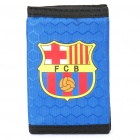 Football/Soccer Team Trifold Nylon Wallet - Barcelona