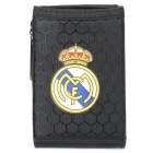 Football/Soccer Team Trifold Nylon Wallet - Real Madrid