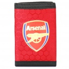 Football/Soccer Team Trifold Nylon Wallet - Arsenal