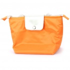 Fashion Insulating Lunch Picnic Handbag - Orange