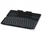 USB Rechargeable Wireless Bluetooth V2.0 Keyboard Aluminum Alloy Case for   Ipad 2