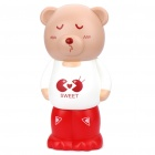 Cute Bear Toy Abnehmbare Coin Bank - Weiß + Red + Brown