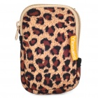 Stylish Multi-Purpose Protective Bag w/ Carabiner Clip & Strap for MP3/MP4/Cell Phone/Camera