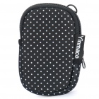 Stylish Multi-Purpose Protective Bag with Carabiner Clip & Strap for MP3/MP4/Cell Phone/Camera