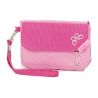 Cat Pattern Storage Pouch Bag for Cell Phone/MP3/MP4/Small Gadgets - Pink