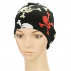 Fashion Skull Pattern Knitting Wool Cap Hat