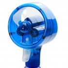 Portable Water Spray Cooling Fan - Blue (2 x AA)