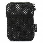 Protective Carrying Bag for Digital Camera - Black + White dots