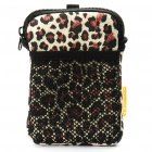 Protective Carrying Bag for Digital Camera - Leopard