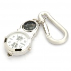 Glow-in-the-Dark Sports Watch with Thermometer + Carabiner Clip + White Light (1 x 377)