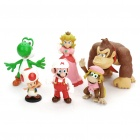 Super Mario PVC Characters Figures (6-Figure Set)