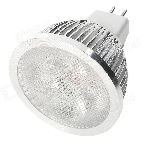 MR16 4W 3500K 360-Lumen 4-LED Warm White Light Blub (12V) mr16 3w 3 led 260 lumen 3500k warm white light bulb 12v