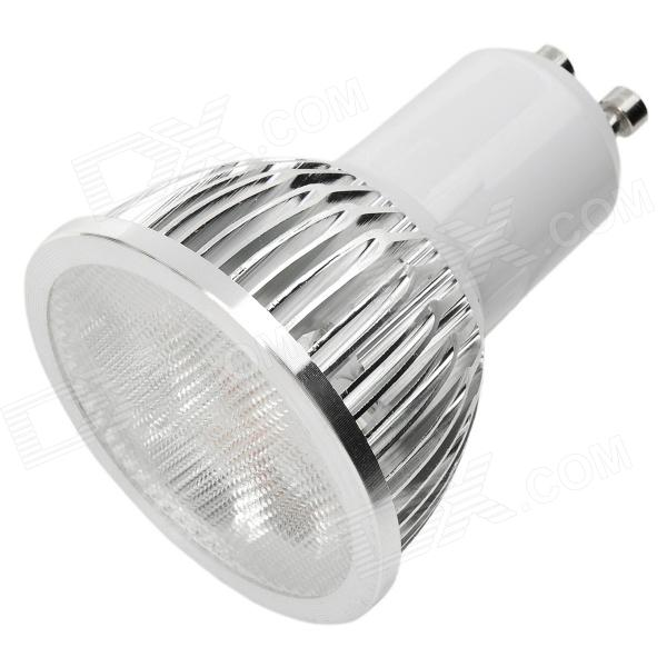 купить GU10 4W 6500K 360-Lumen 4-LED White Light Bulb (85~265V) онлайн
