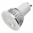 GU10 4W 6500K 360-Lumen 4-LED White Light Bulb (85~265V)