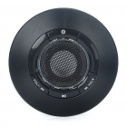 USB Rechargeable UFO Mini Speaker With TF Slot - Black (3.5mm Jack)