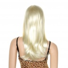 Fashion Long Hair Wigs - Cream White